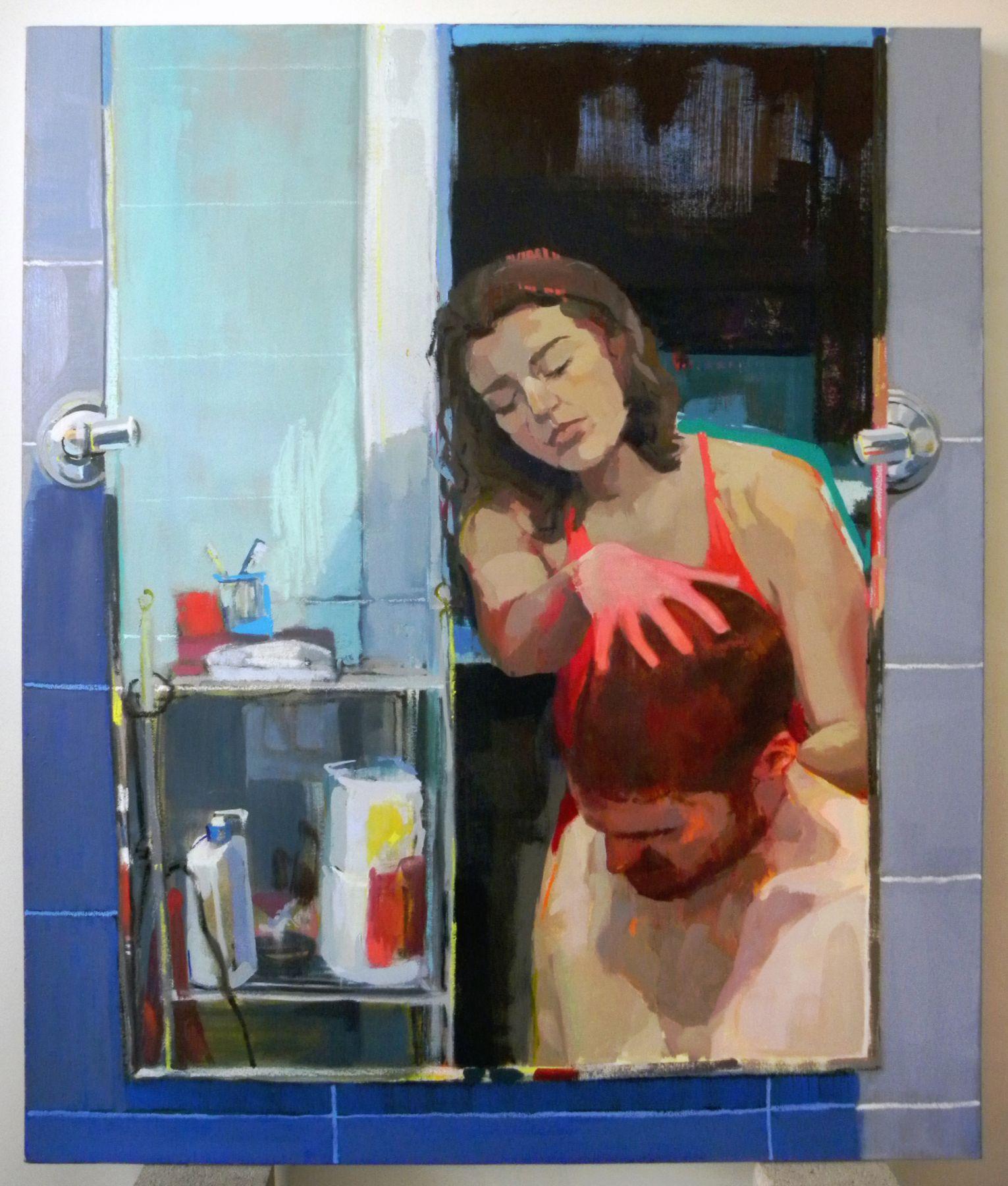 Rachel Rickert, The Haircut (III), 2018