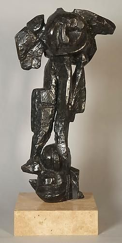Pollux III, 1970, Bronze, 31 x16 x 7 inches, ed. of IV