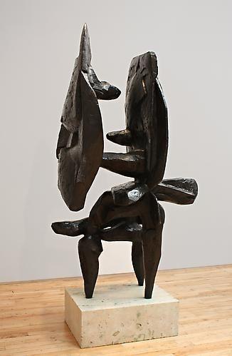 Scudi IV, 1959-61,Bronze,72 x 40 x 28 inches,ed. IV/IV