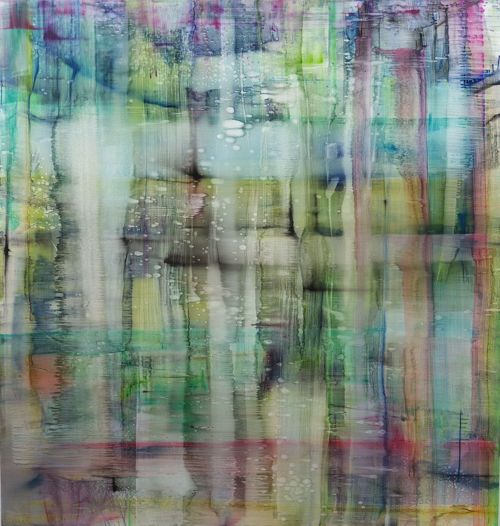 Matthias Meyer, grünes Wasser, 2015