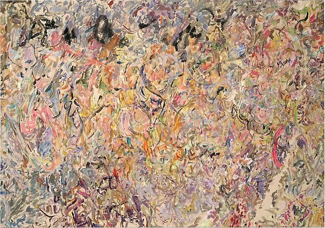 Larry Poons Araminty, 2013
