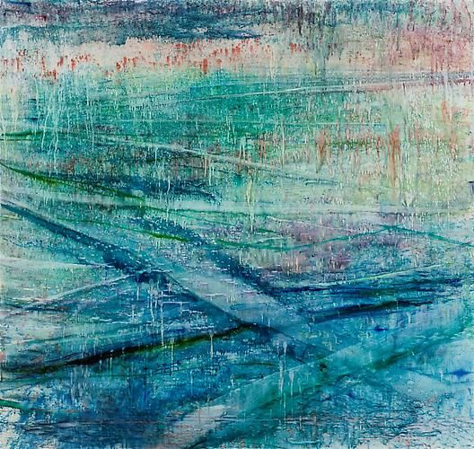 Lake 5, 2012,oil on linen,67 x 70 3/4 inches (170 x 180 cm)