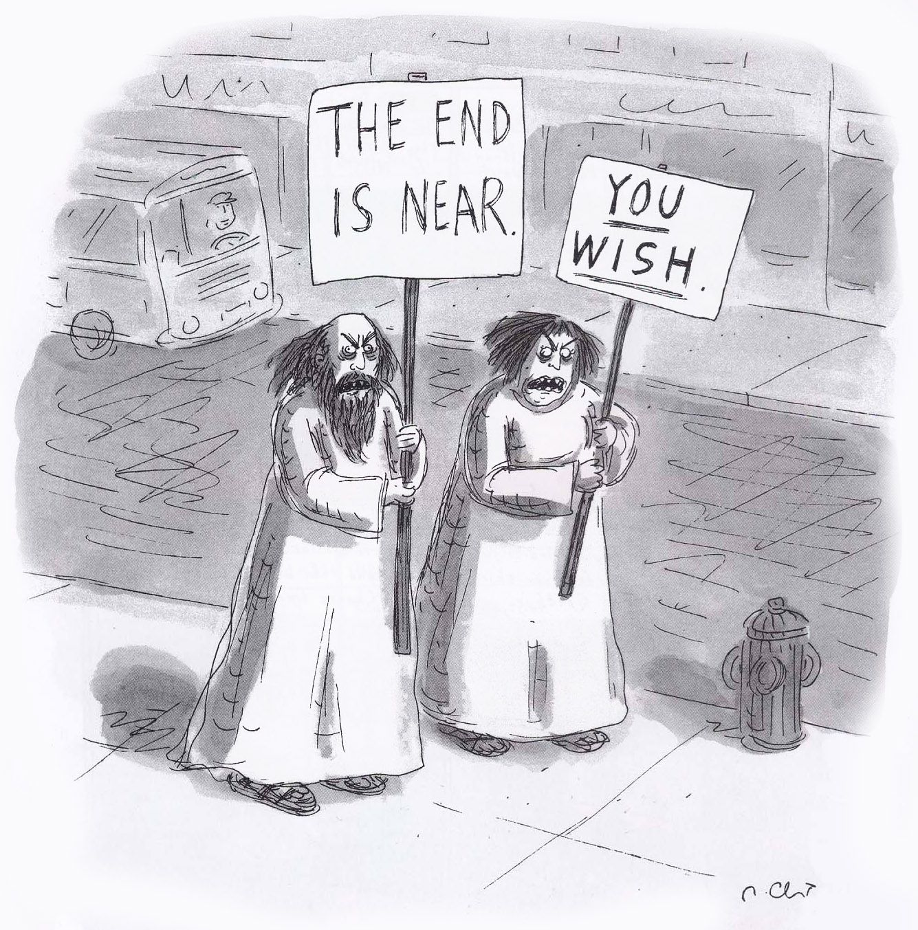 Roz Chast, The End is Near, published May 19, 1997