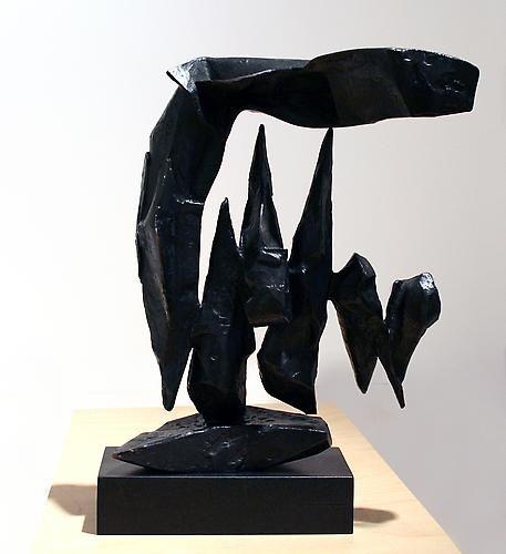 Forme Sospese, 1958,Bronze,19.5x 14 x 6 inches,ed. IV/VI
