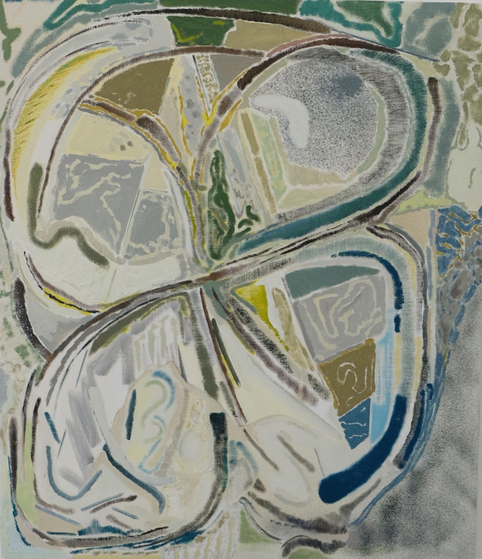 "Daniel Noonan, Symbol, Oil on linen, 30 x 26"""