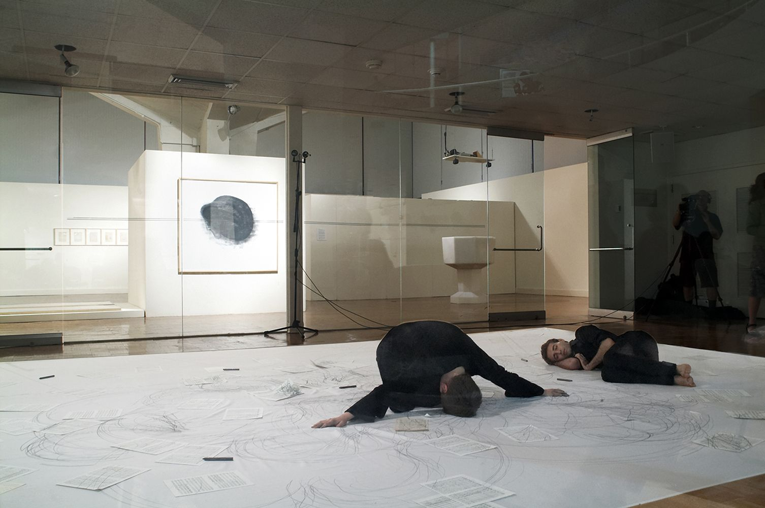 Monika Weiss: Five Rivers: Installation, drawing, performance, video and sound (survey exhibition)