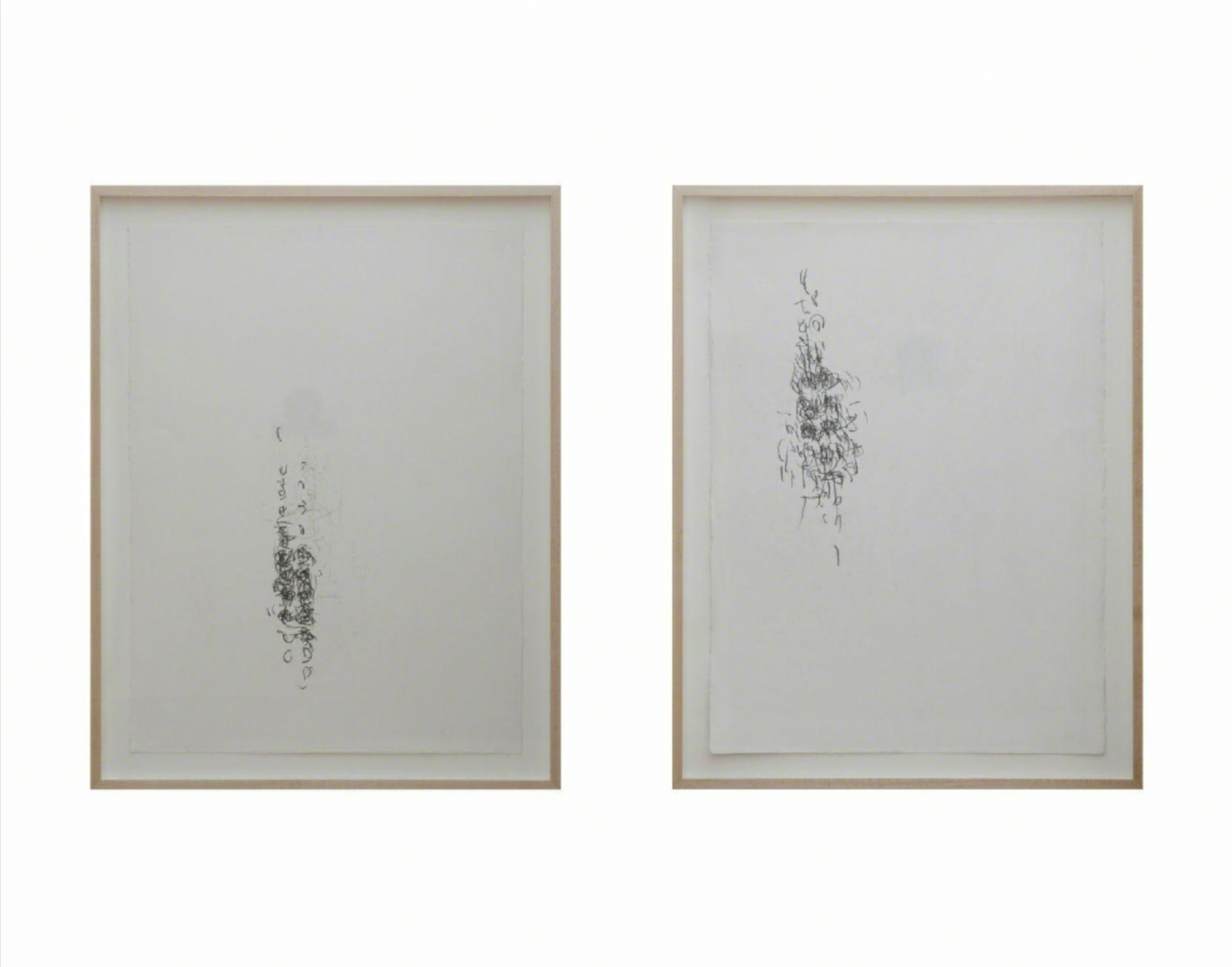 Untitled I and Untitled II