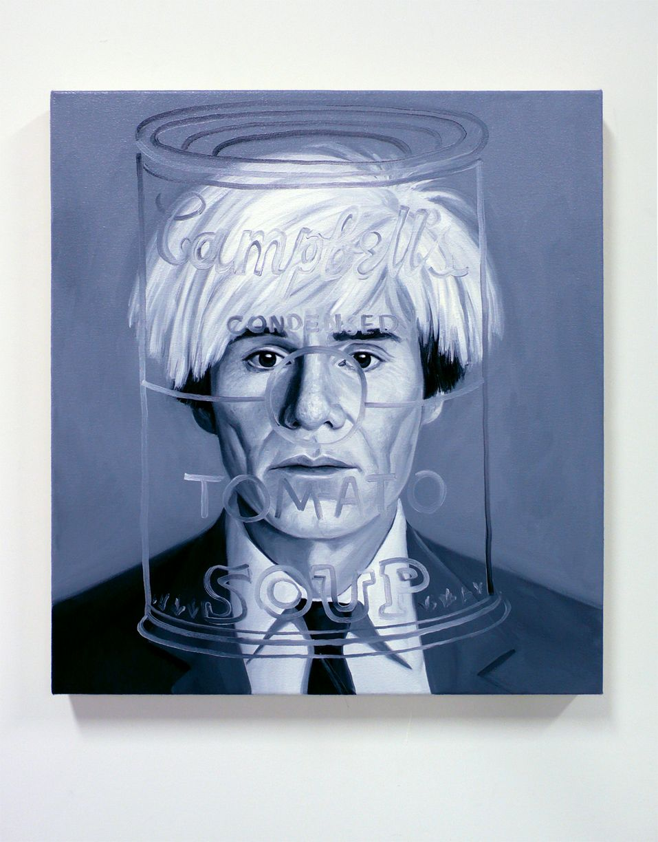 MEETING ANDY WARHOL, from the series THE INABILITY OF MEETING SOMEONE FAMOUS OBJECTIVELY