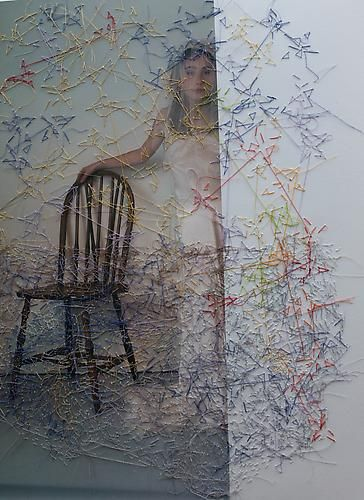 Melissa Zexter, Girl With Chair II
