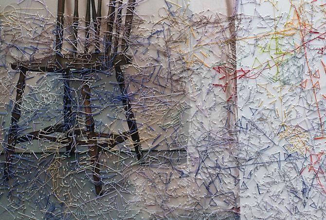 Melissa Zexter, Girl With Chair II (detail)