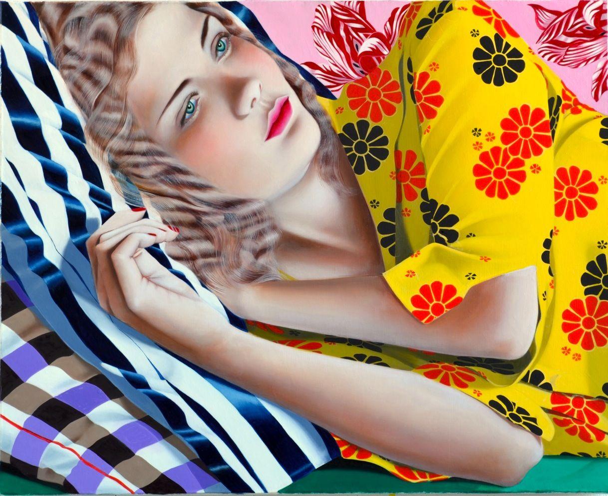 Jocelyn Hobbie, Untitled (Yellow), 2014
