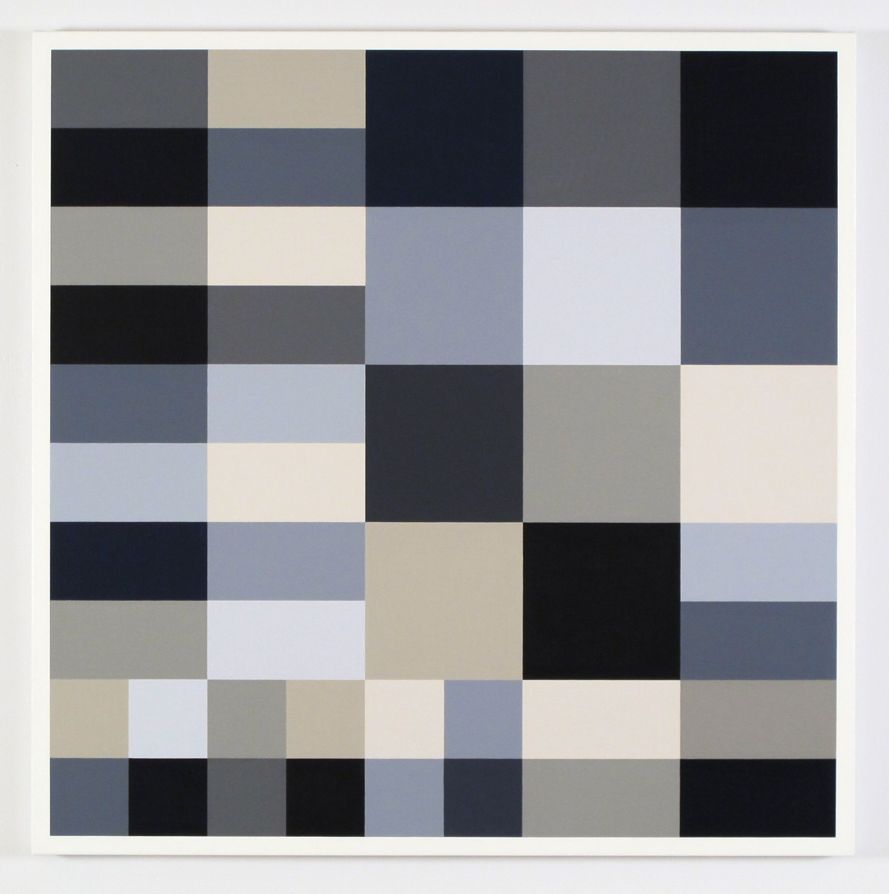 CARY SMITH, Grey Blocks #23, 2014