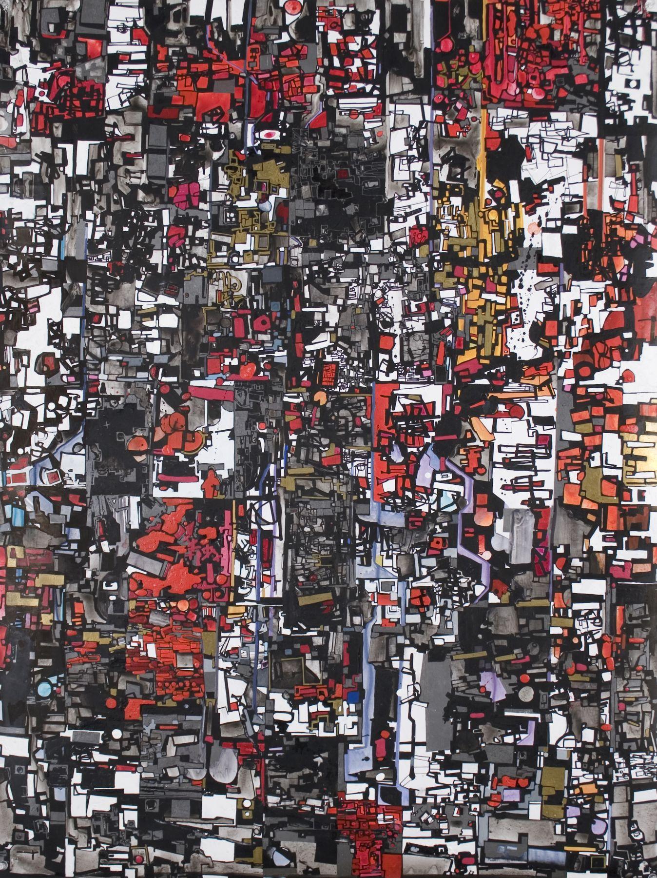 Zak Smith, Red Ninja House, 2005