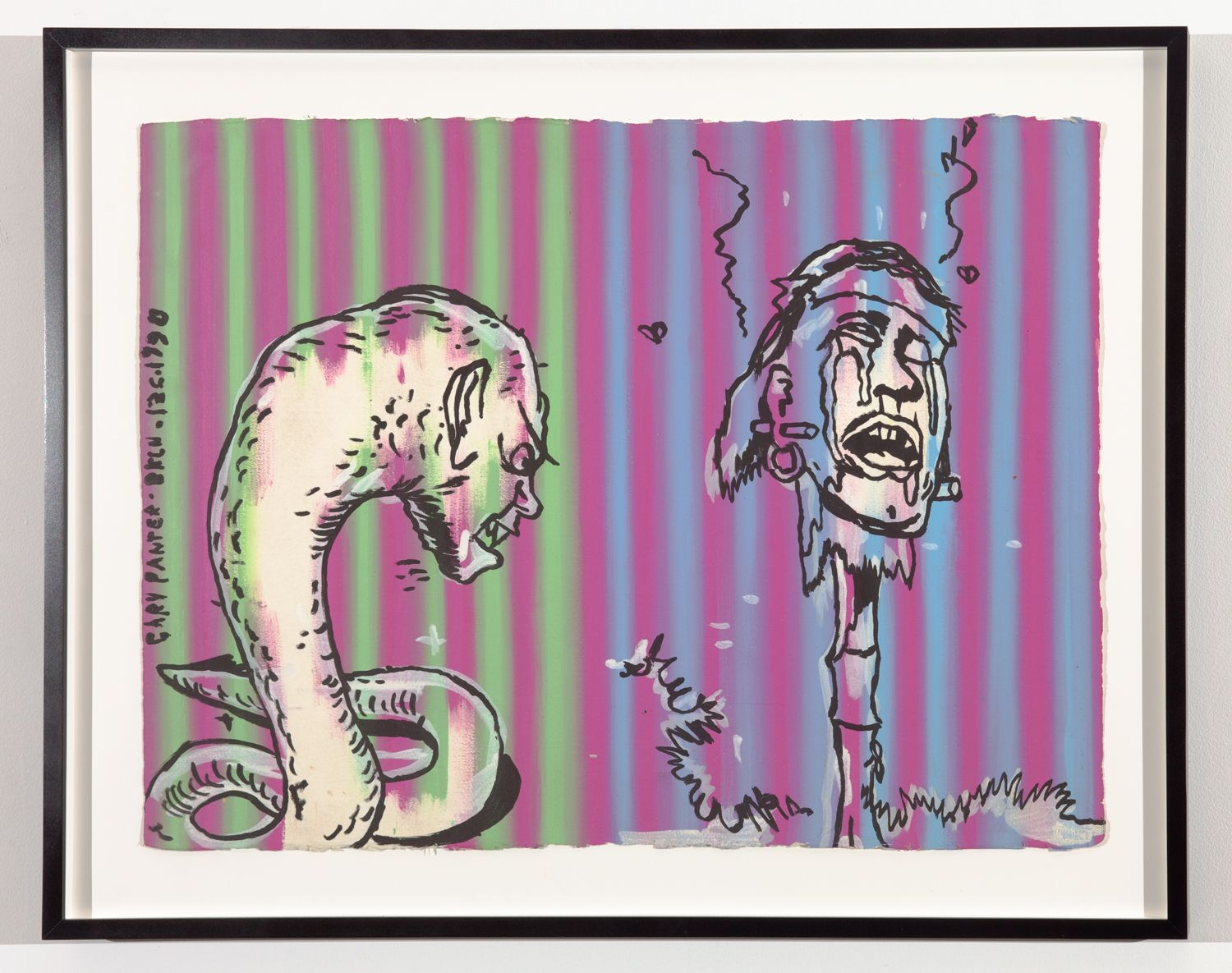 GARY PANTER, Untitled (Carne), 1990