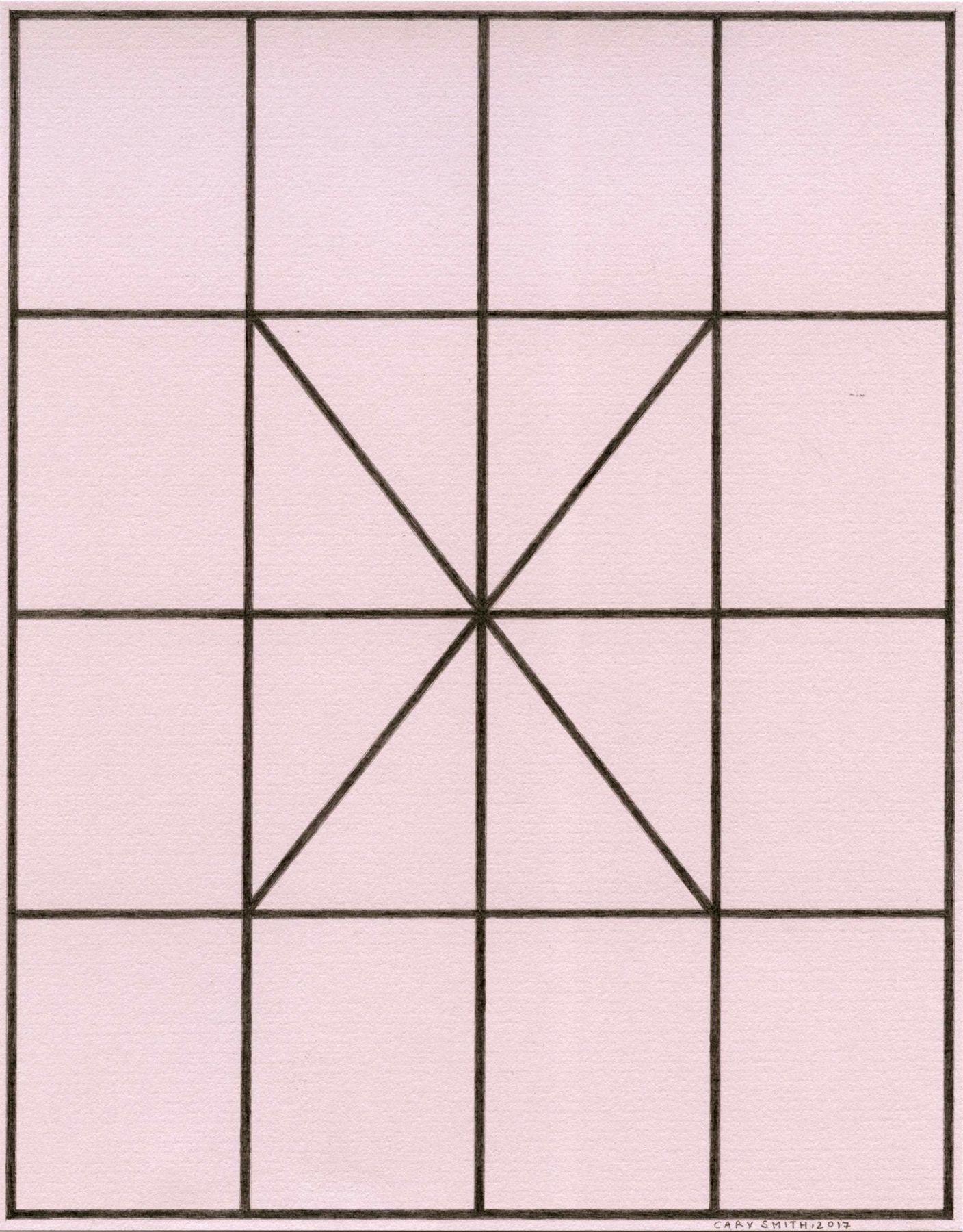 Cary Smith Complex Diagonals #4, 2017