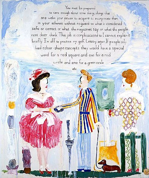 THOMAS TROSCH, Dorothy Rodger's Decorating Lesson #23,1993