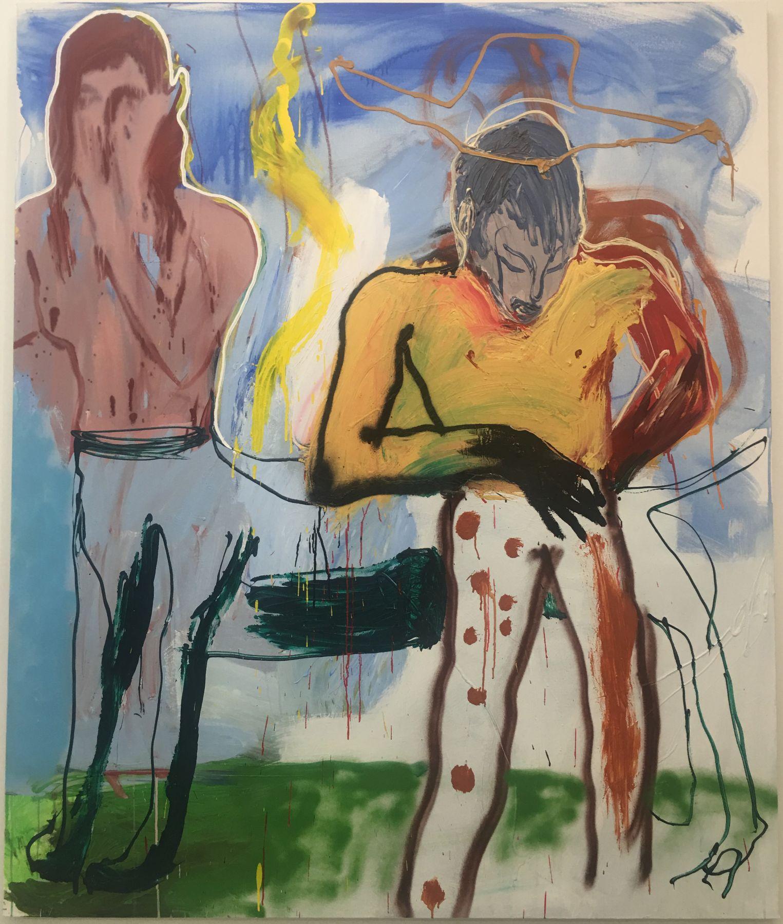 The Centaur, 2019, Acrylic on canvas