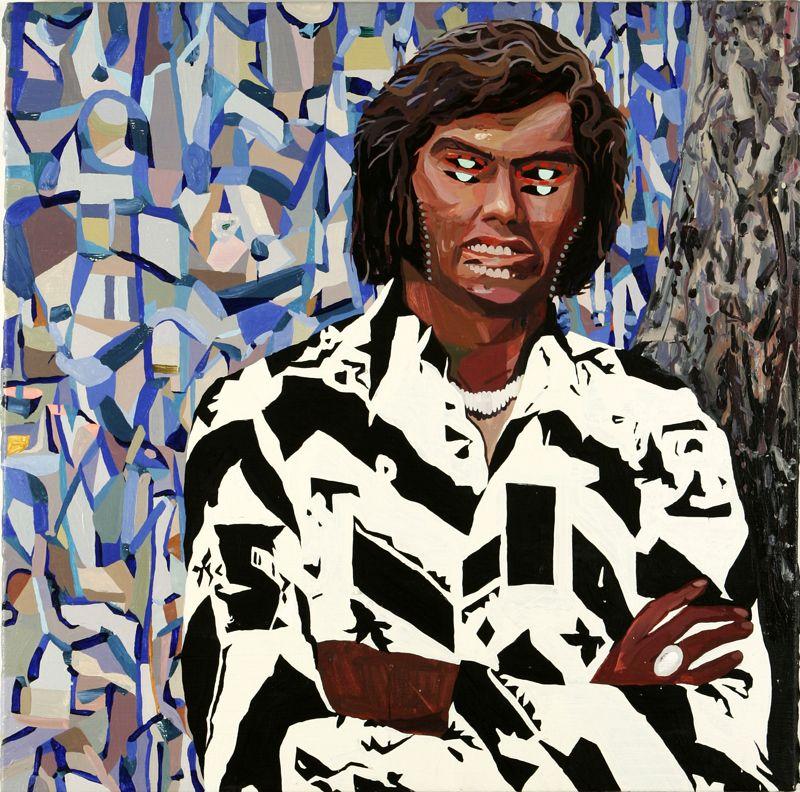JUSTIN CRAUN, Double Faced Hombre, 2005