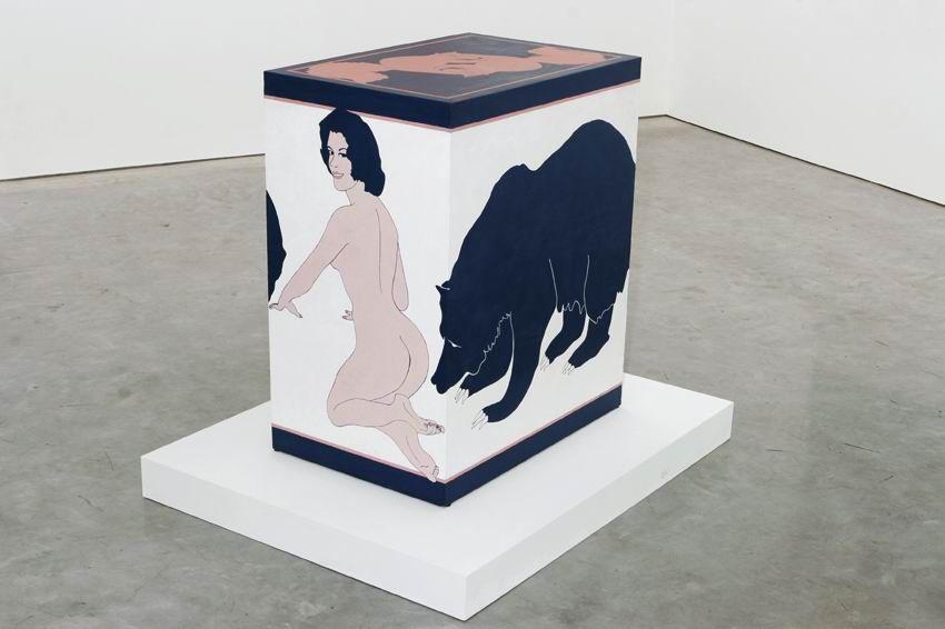 JOHN WESLEY, Bear Table,1965
