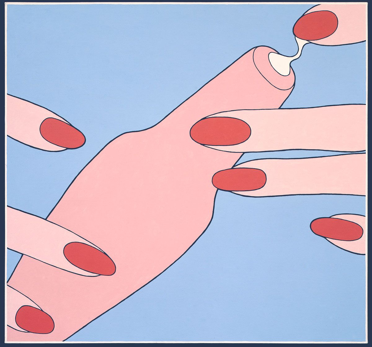 John Wesley, Untitled (Hand Lotion), 1991