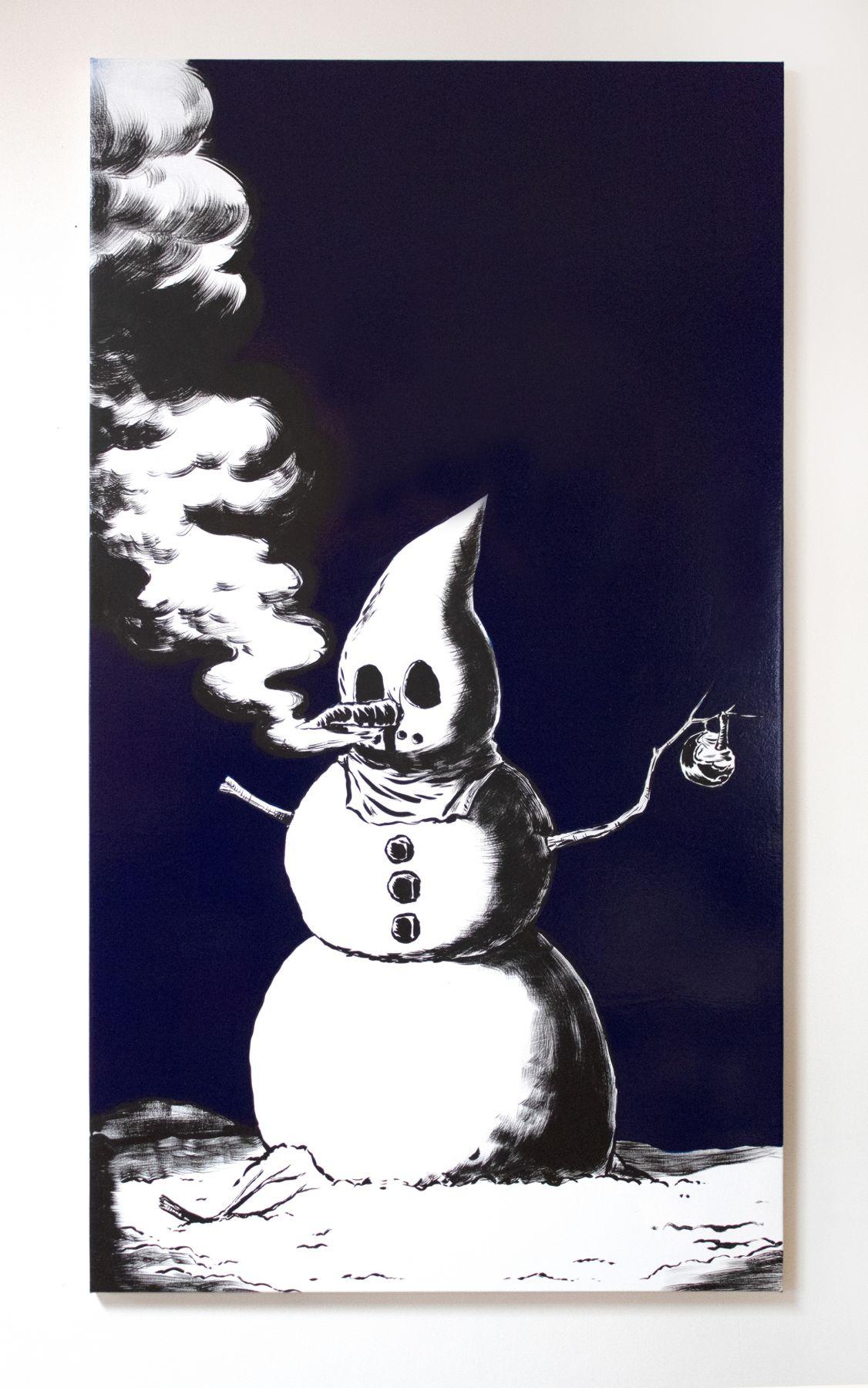 MARK THOMAS GIBSON, The Snowman, 2019
