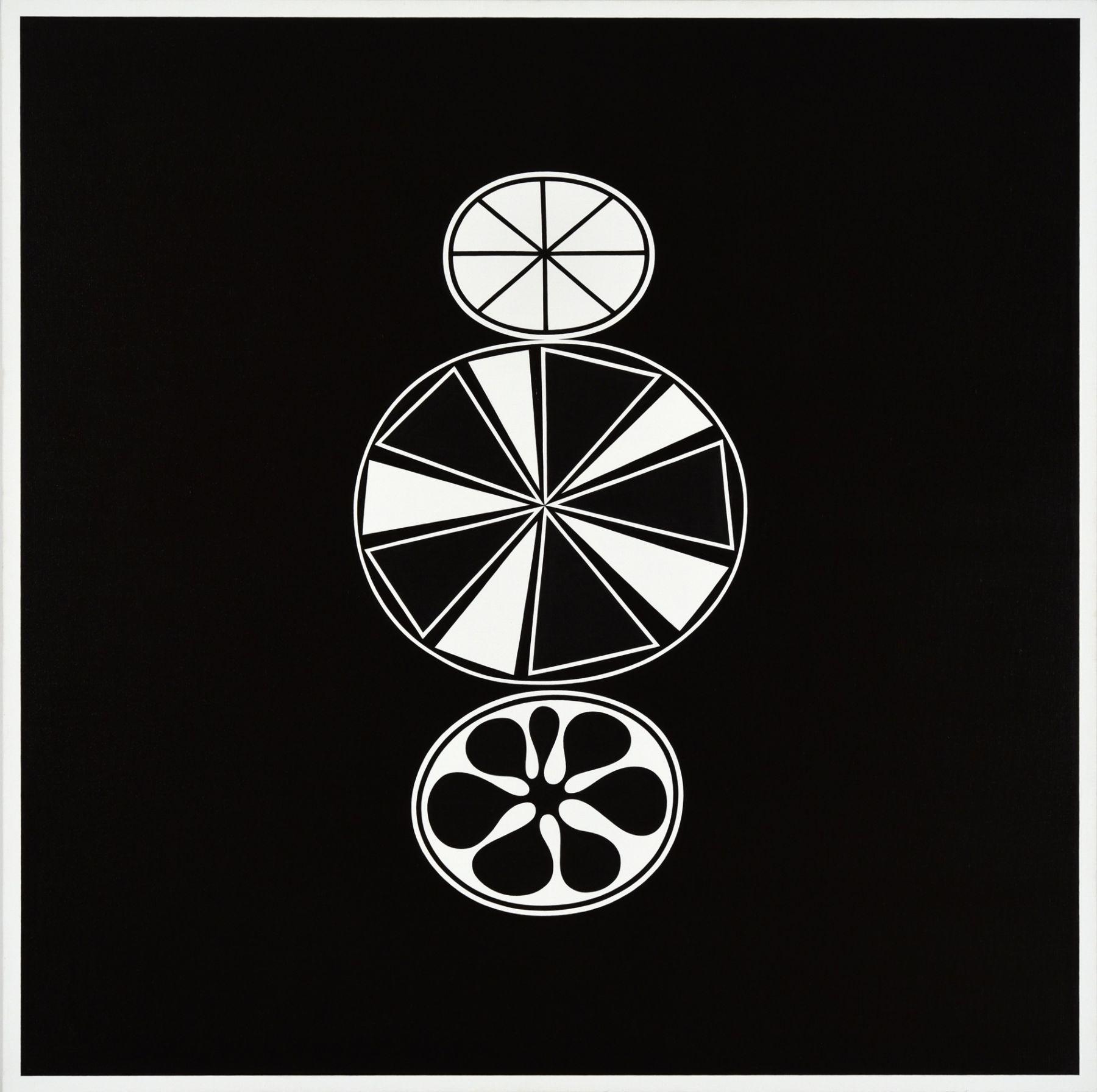 Cary Smith, A Necessary Coexistence (black-white), 2017