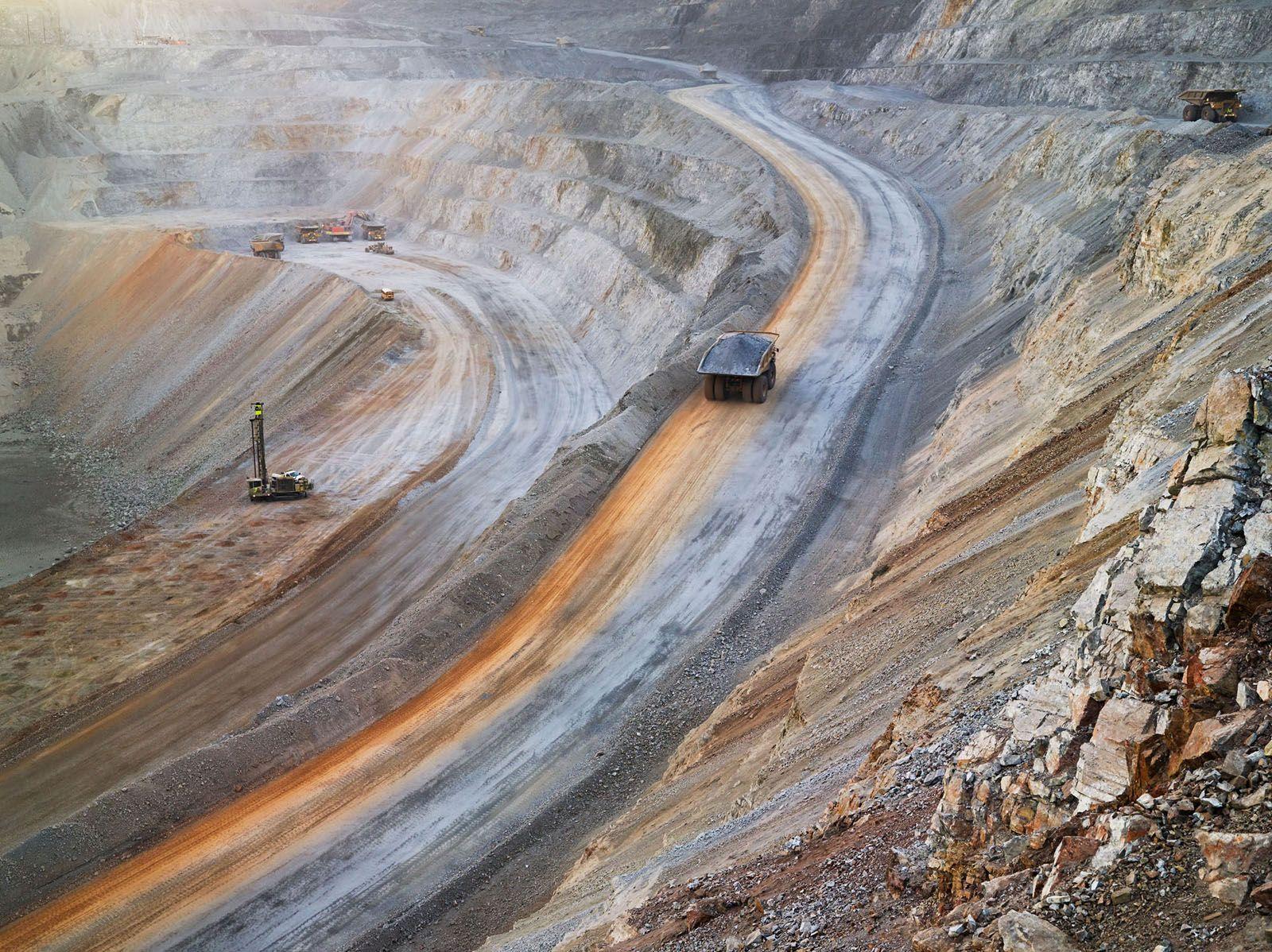 LUCAS FOGLIA, Surface Mining, Newmont Mining Corporation, Carlin, Nevada, 2012