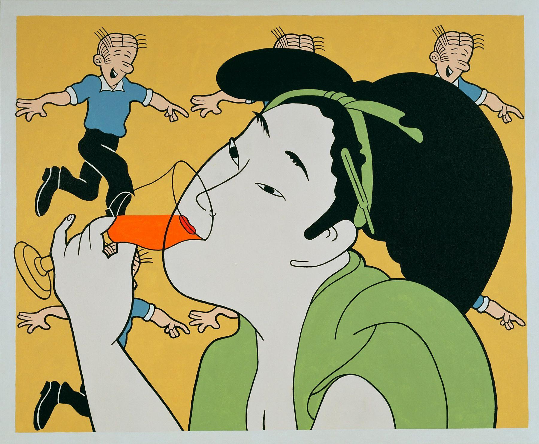JOHN WESLEY, Orange Wine,2003