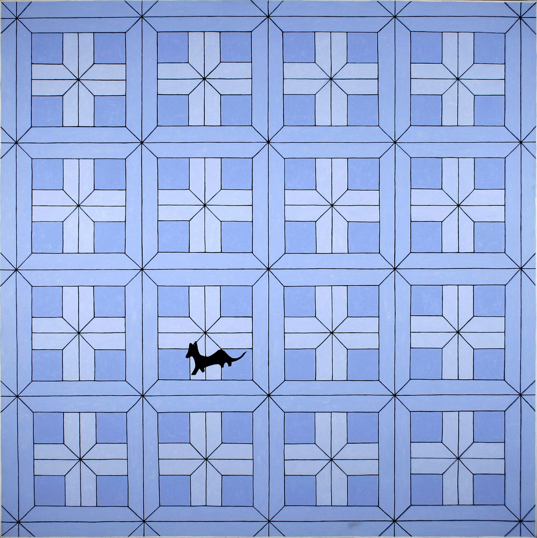 JOHN WESLEY, Alice's Floor,1990