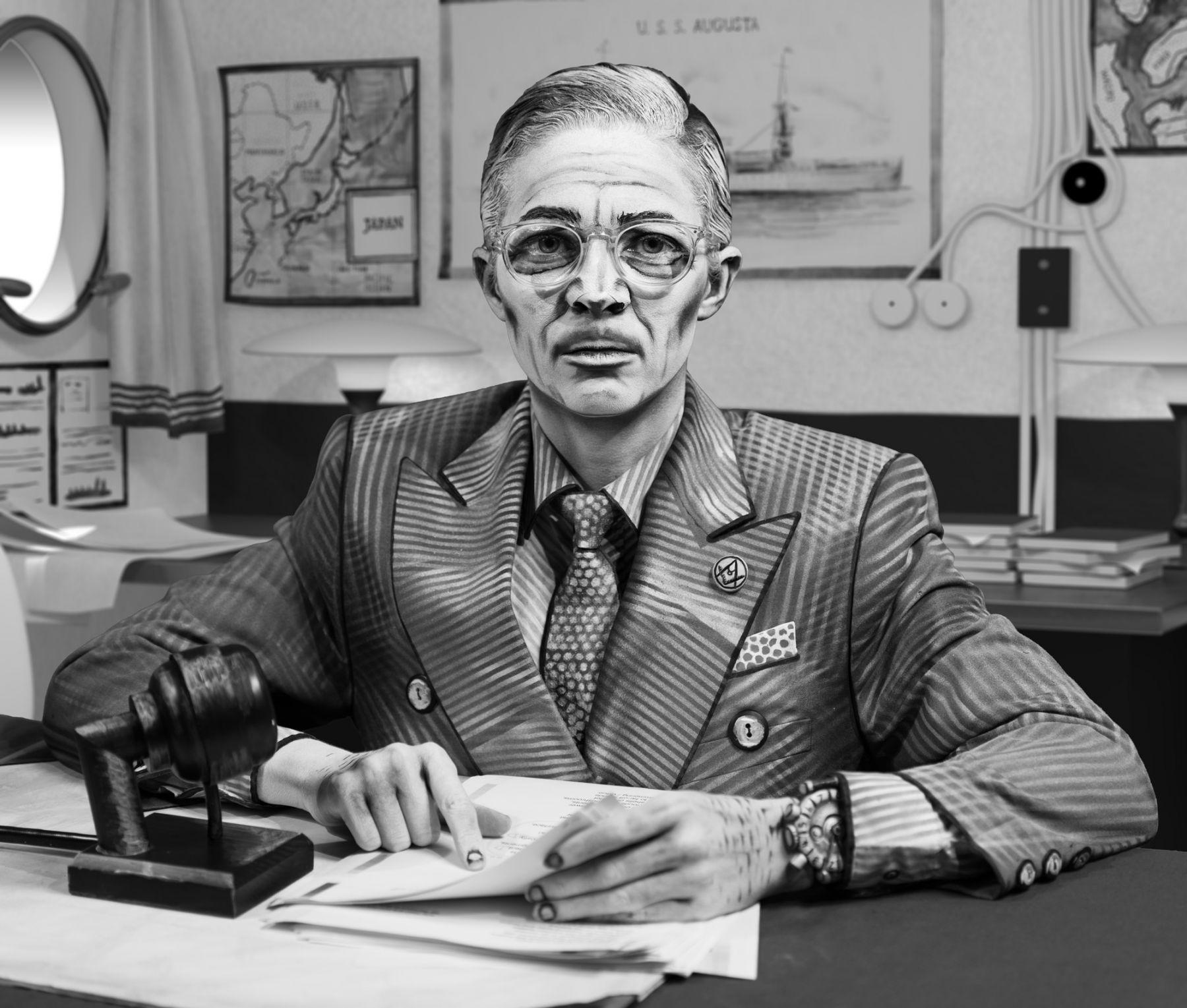 Mary Reid Kelley, Harry S. Truman, 2017