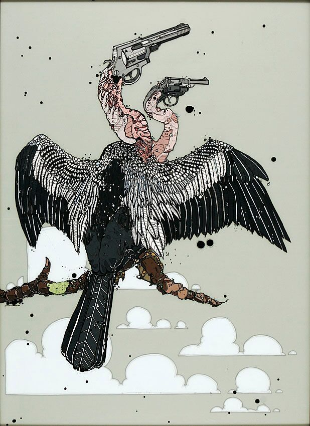 Nicholas Di Genova, Double-Headed Six-Shooter Stork (First Son)