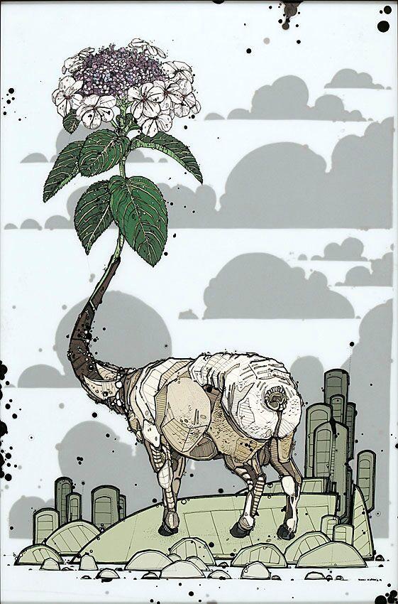 Nicholas Di Genova, Lilac-Necked Ewe