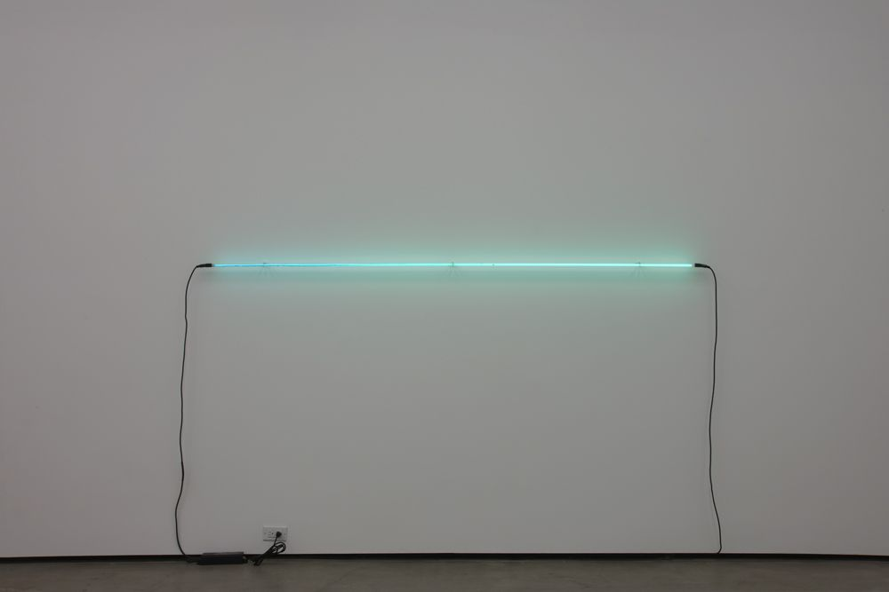 ROBERT OVERBY, Space No. 1 Neon, 1971