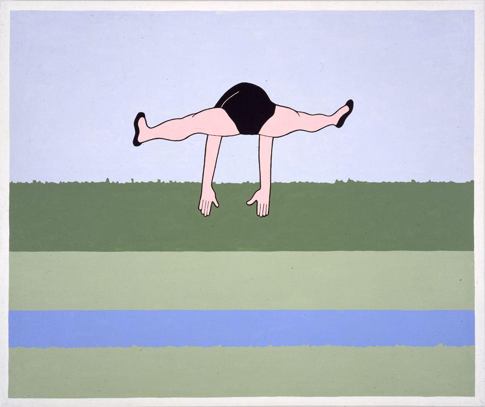 JOHN WESLEY, Princess Sacajawea Crossing the Snake,1976