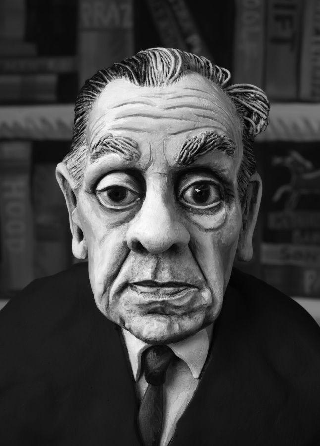 Mary Reid Kelley, Jorge Luis Borges, 2015
