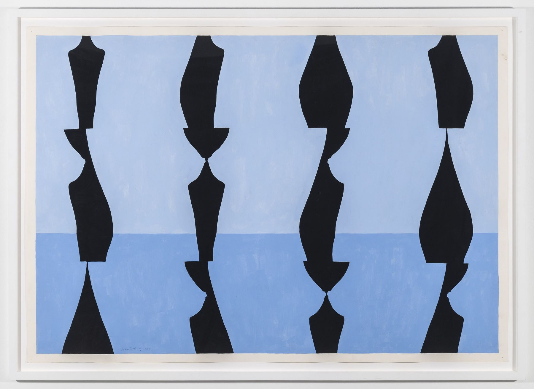 JOHN WESLEY Untitled, 1983