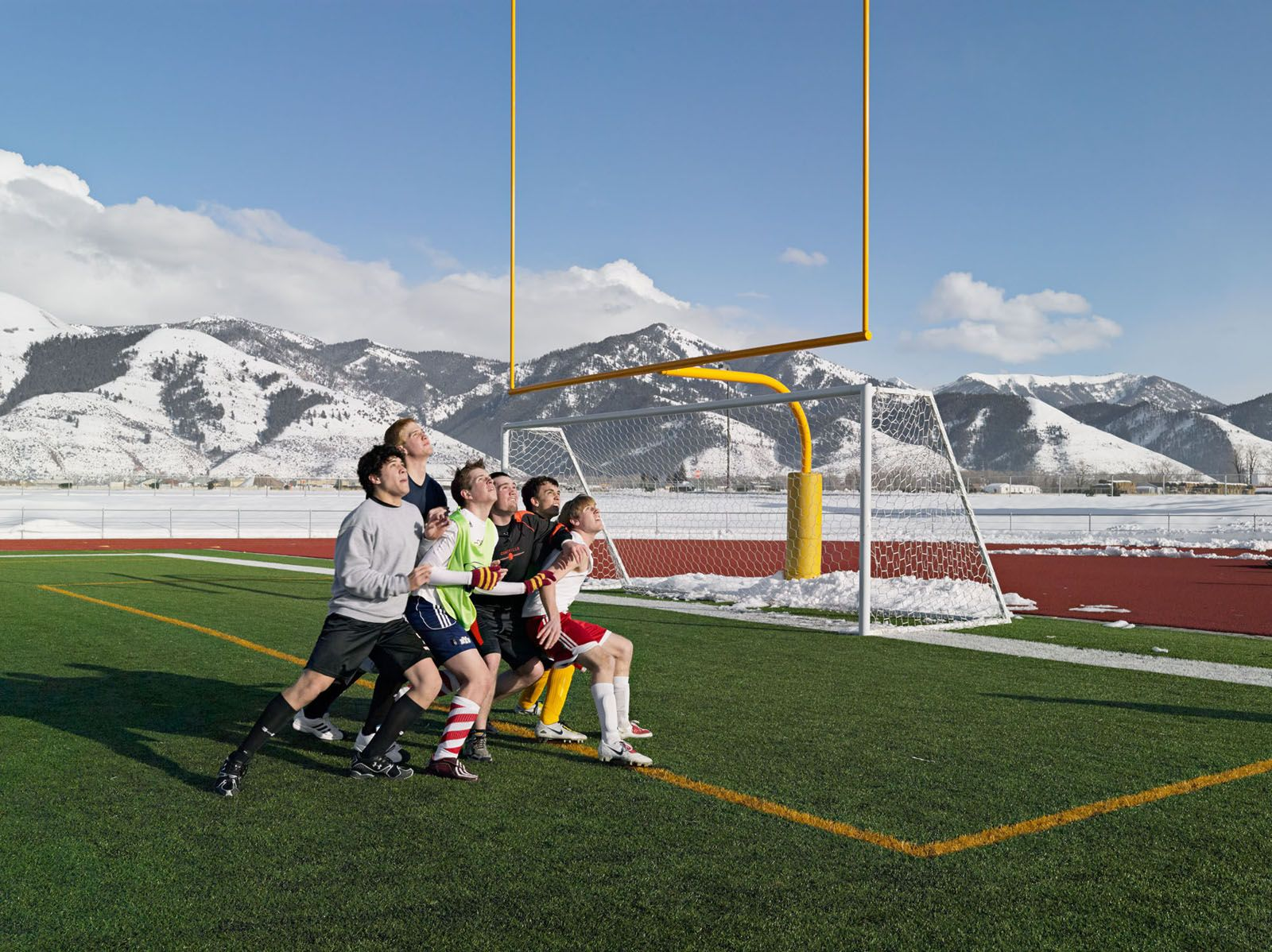 LUCAS FOGLIA, Soccer Practice, Star Valley Braves, Afton, Wyoming, 2010