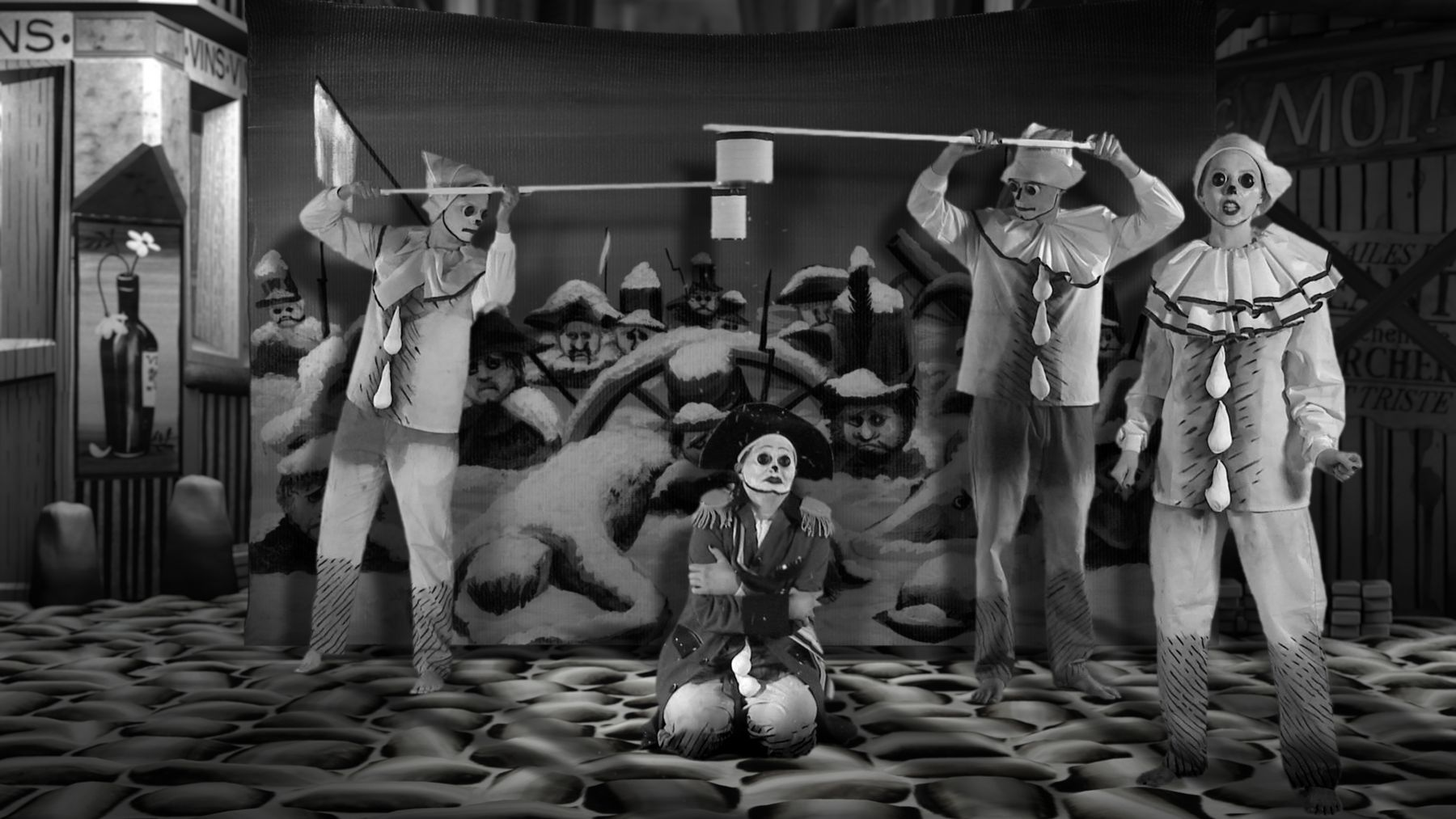 MARY REID KELLEY with PATRICK KELLEY, Film Still fromThe Syphilis of Sisyphus, 2011