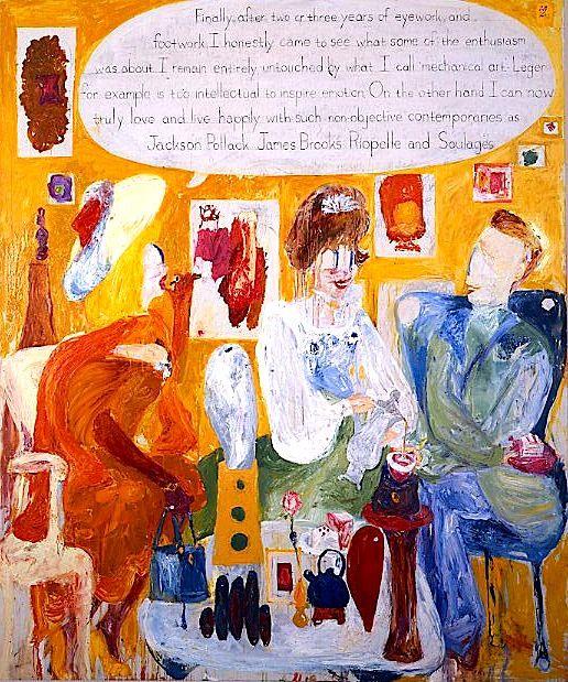 THOMAS TROSCH, Dorothy Rodger's Decorating Lesson #14,1993