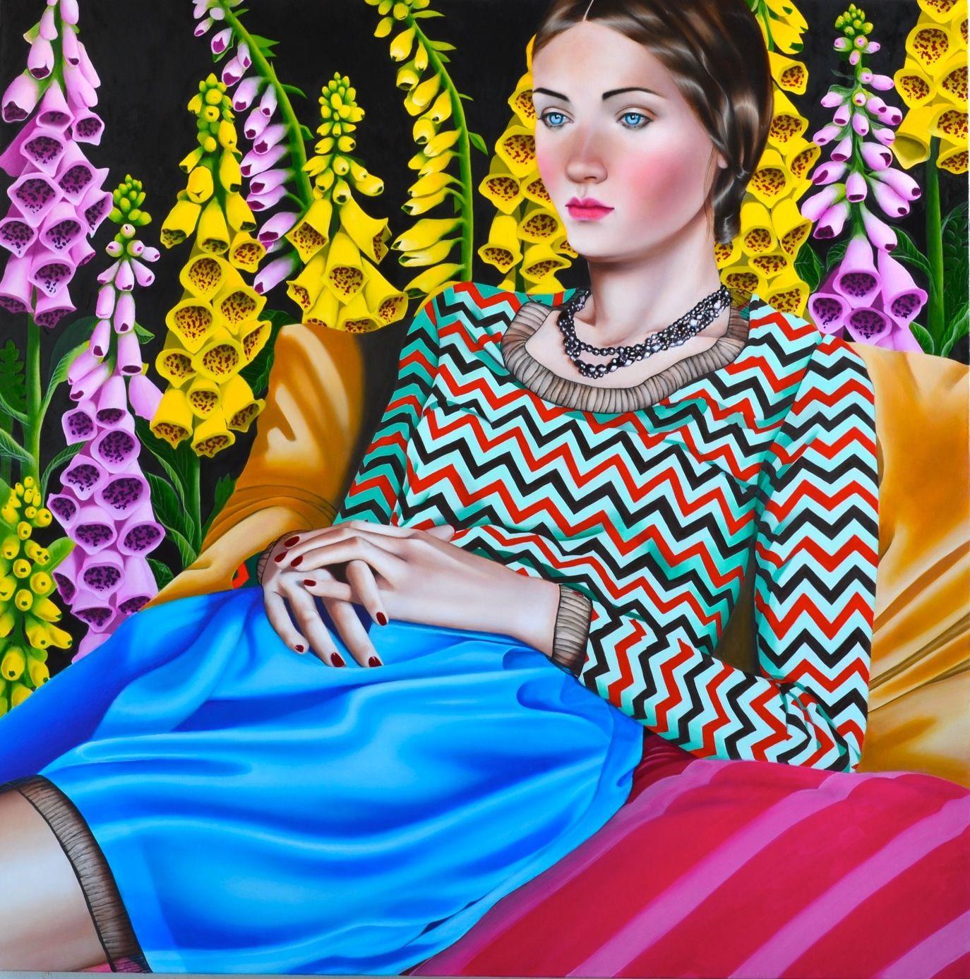 Jocelyn Hobbie, Foxglove, 2014