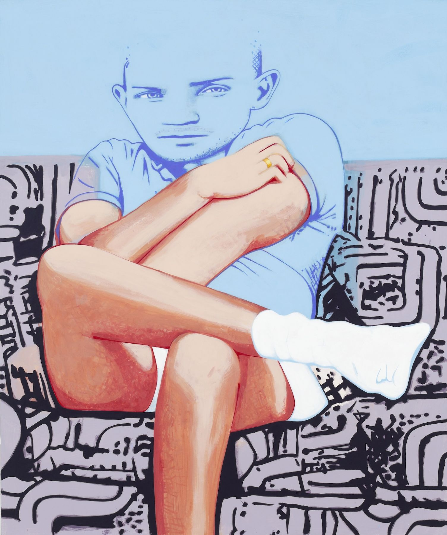 DAVID HUMPHREY, On the Couch, 2014