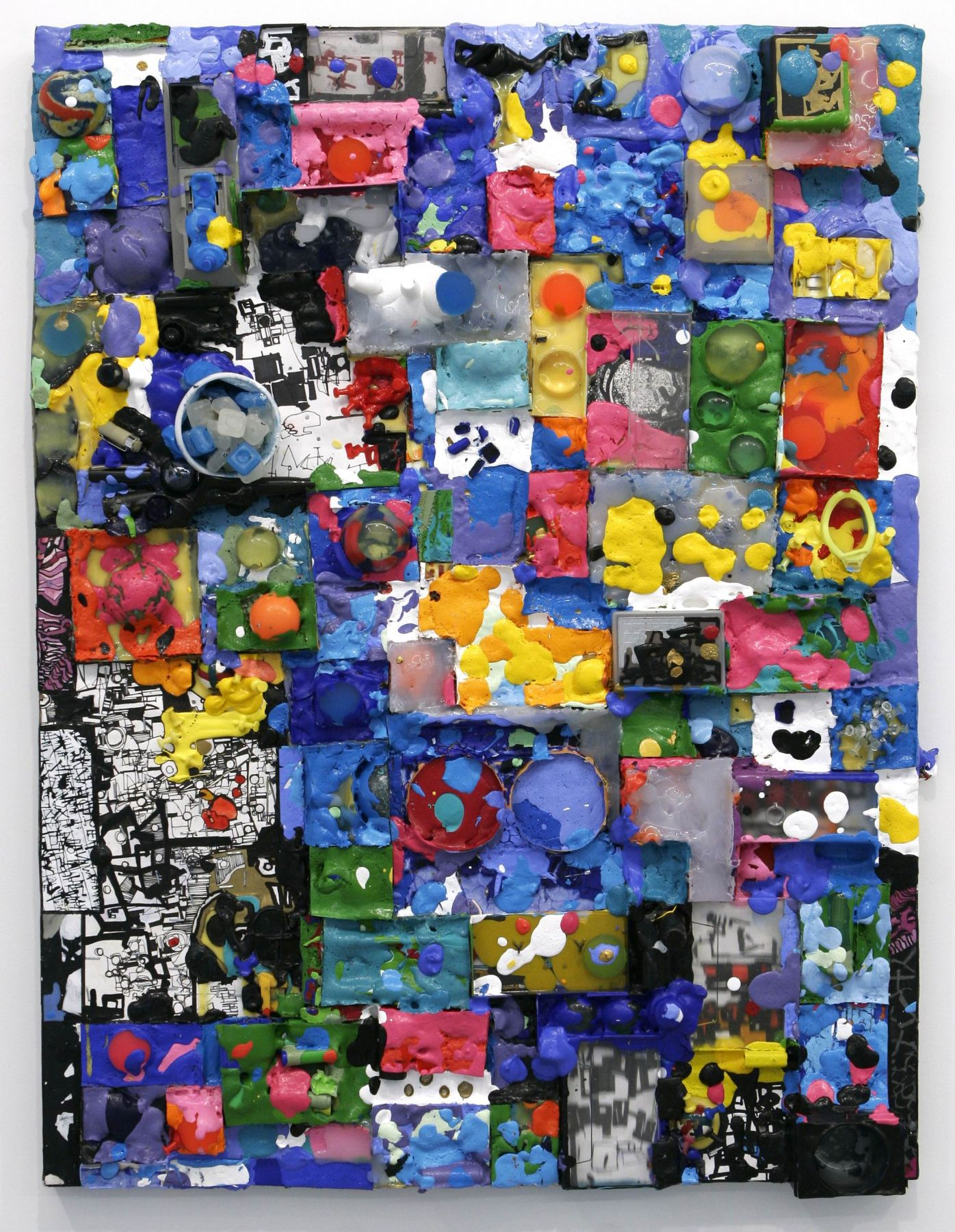 Zak Smith, The Painting That Is Fun To Look At, 2005