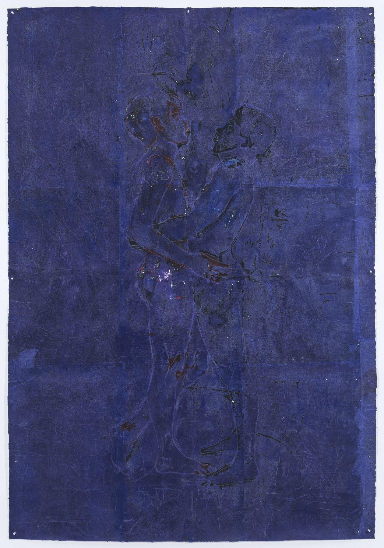 Felipe Baeza, Naj Tunich (Azul 1), 2018