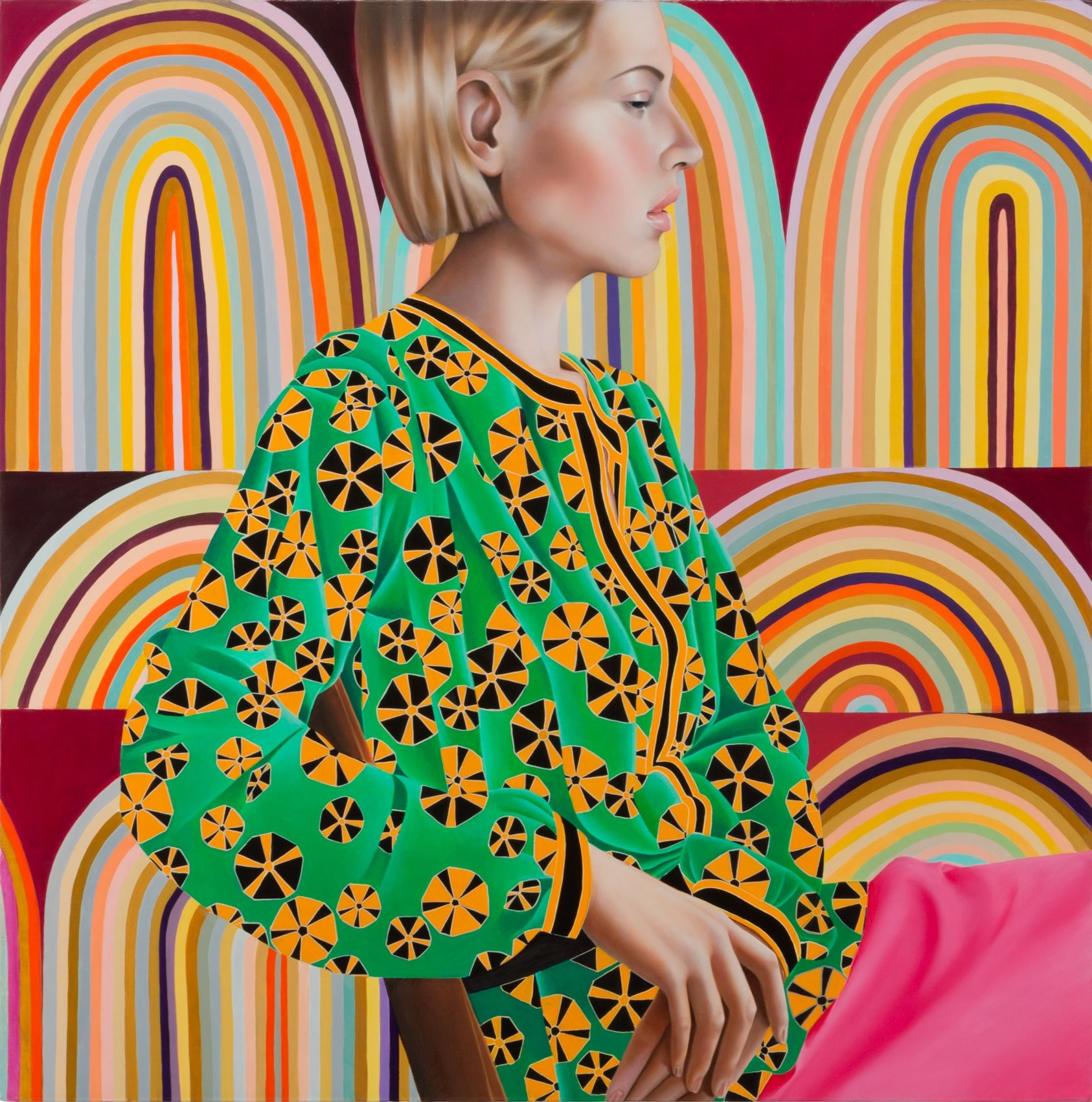 Jocelyn Hobbie, Rose/Gold, 2015