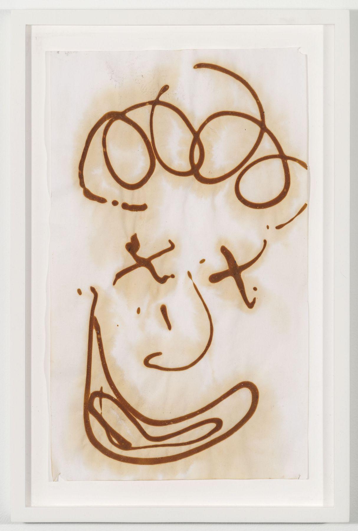 BRIAN BELOTT, Mustard Drawing (Harpo),2015