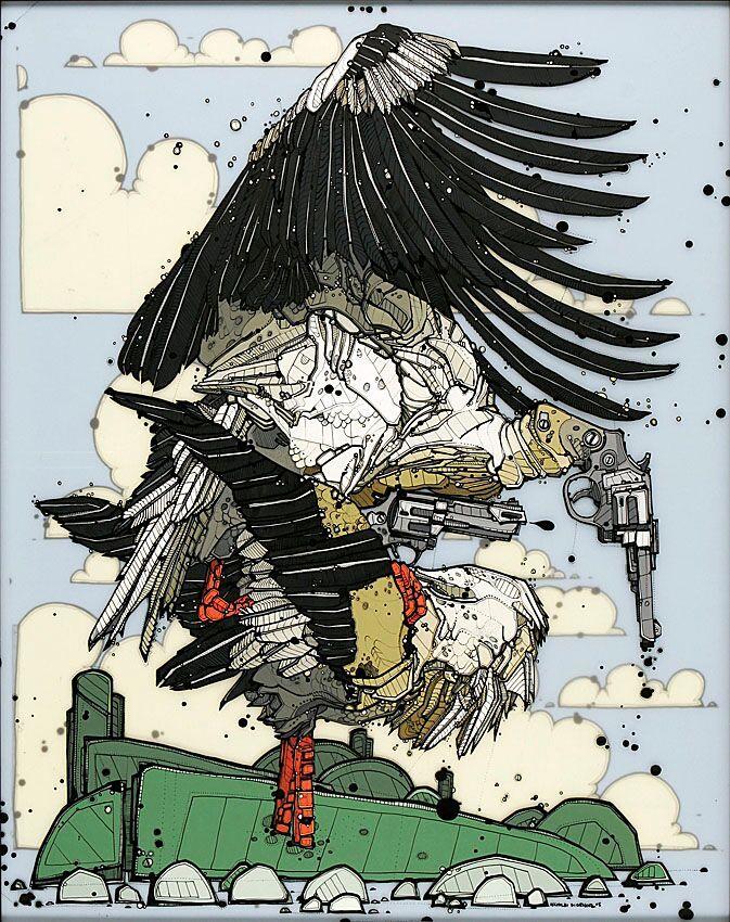 Nicholas Di Genova, Siamese Six-Shooter Stork (First Daughter)