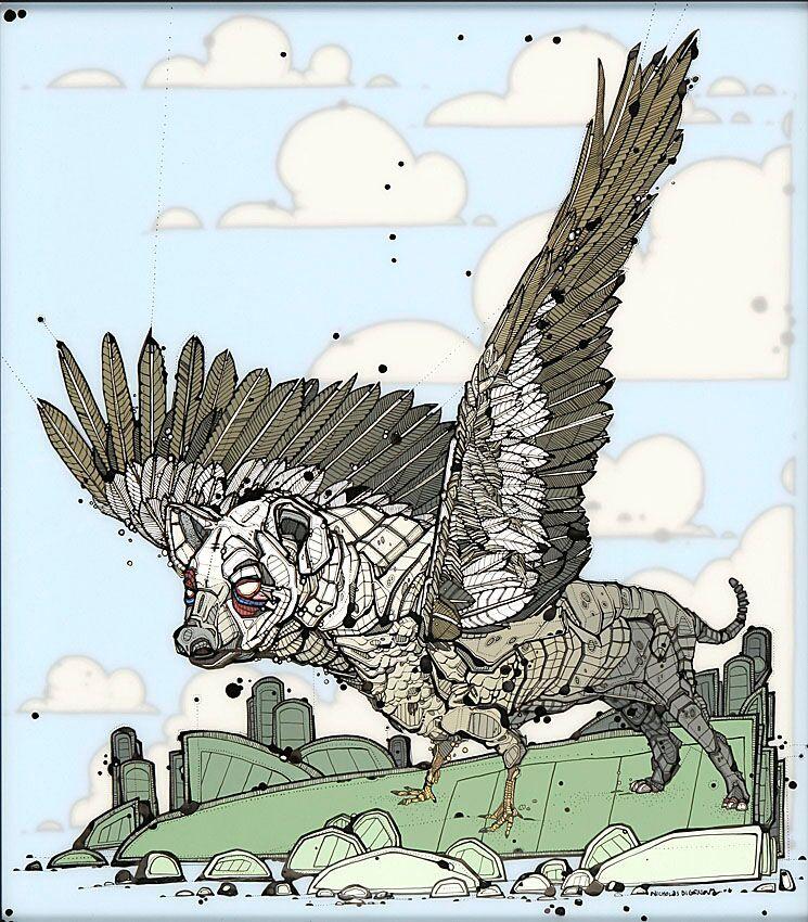 Nicholas Di Genova, Winged Terrior