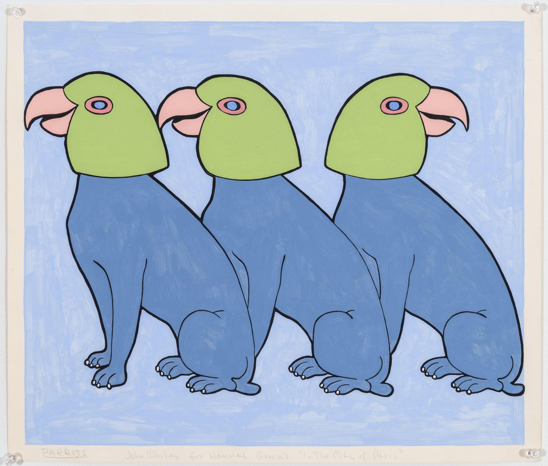 John Wesley, Parrots, c. 1979