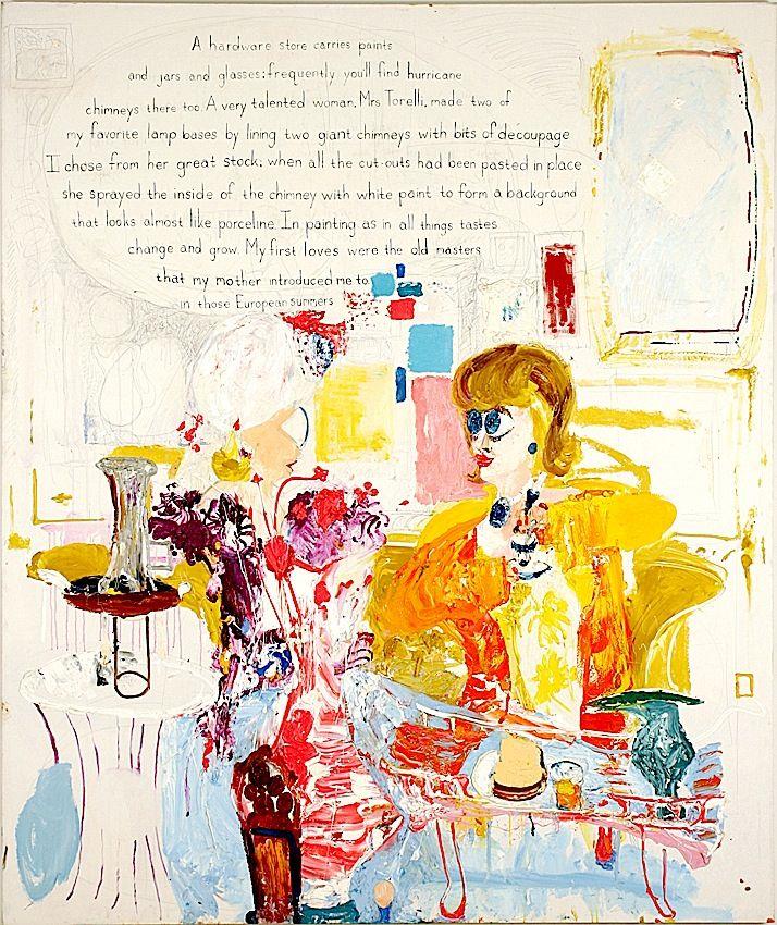 THOMAS TROSCH, Dorothy Rodger's Decorating Lesson #10,1993