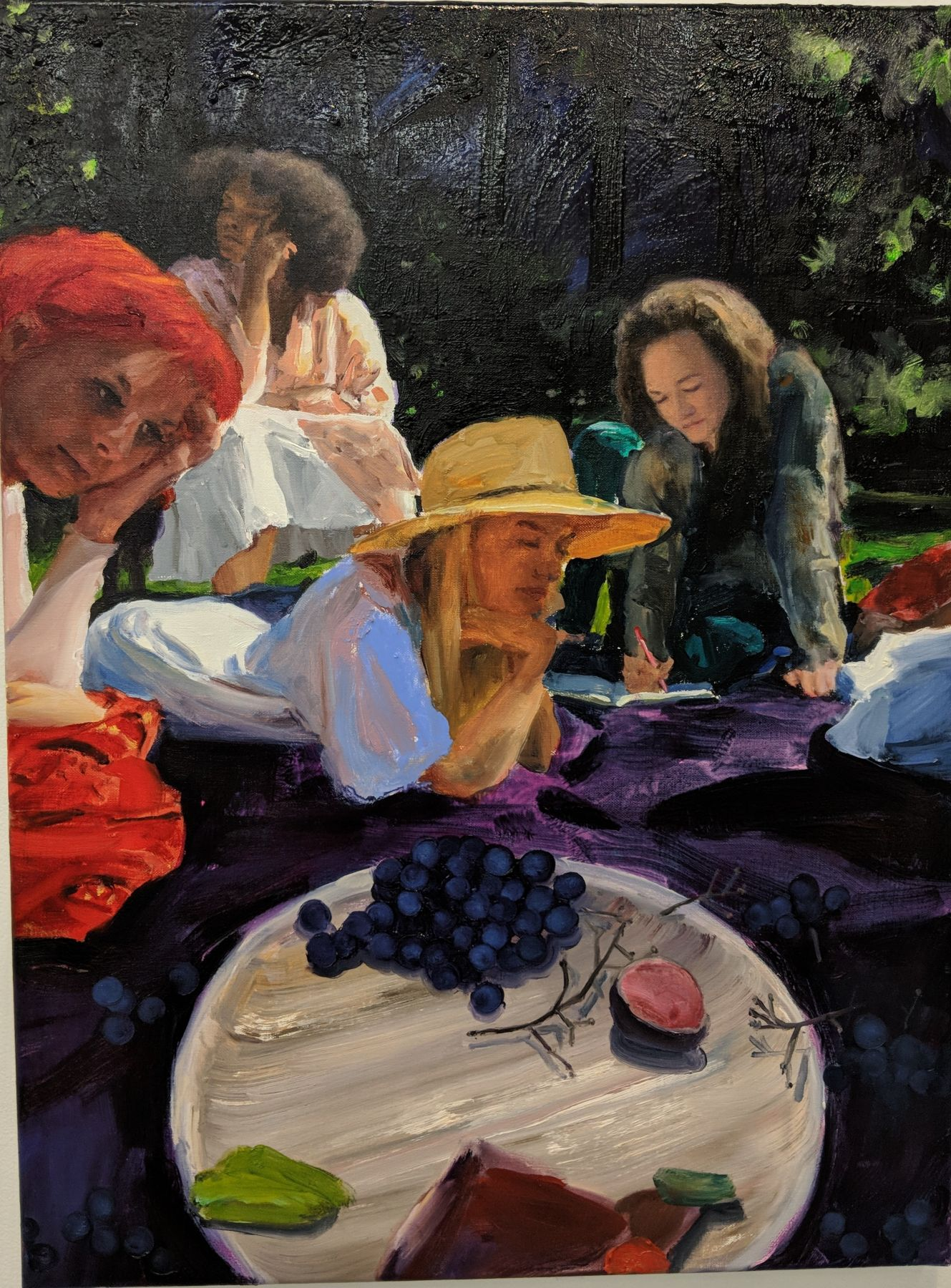 Jenna Gribbon, A Picnic I Attended That Didn't Seem Real, 2018
